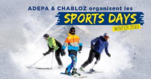 Sports Days à Chamrousse